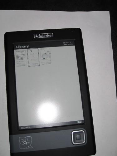 Bookeen Cybook Gen 3 Review