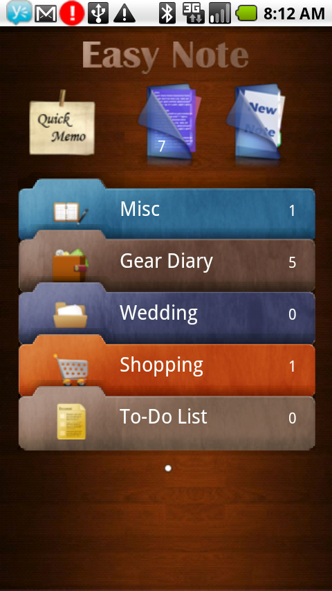 GearDiary Review: Easy Note+Todo for Android