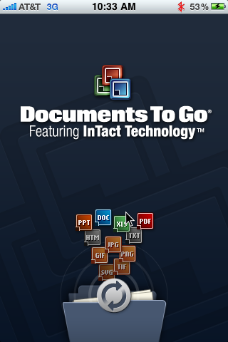 GearDiary The Documents to Go Premium 3.1 for iPhone Review