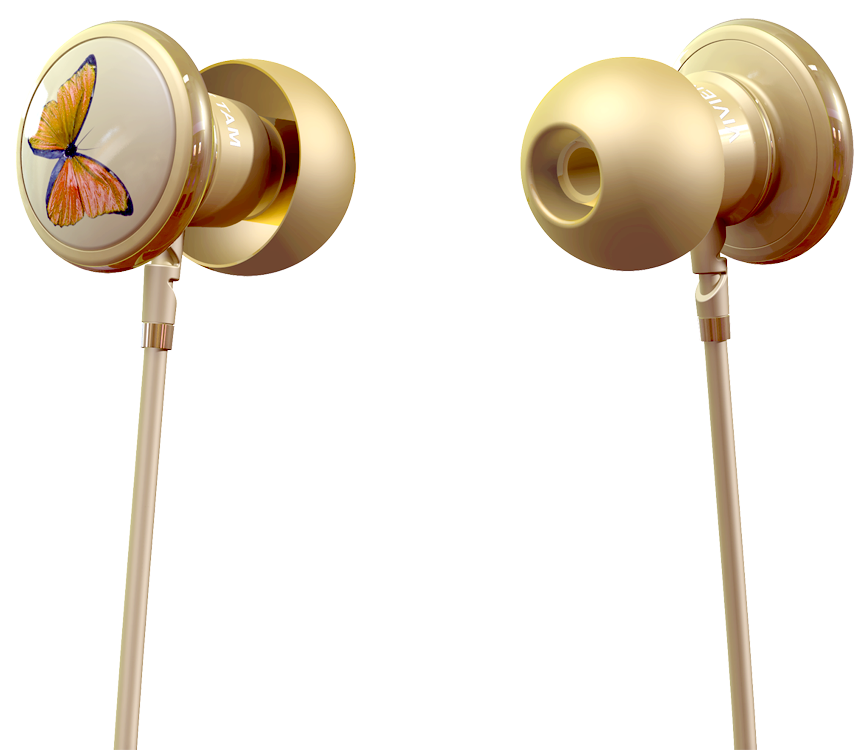 GearDiary Monster Introduces Their Latest: Vivienne Tam Butterfly High Fashion In-Ear Headphones
