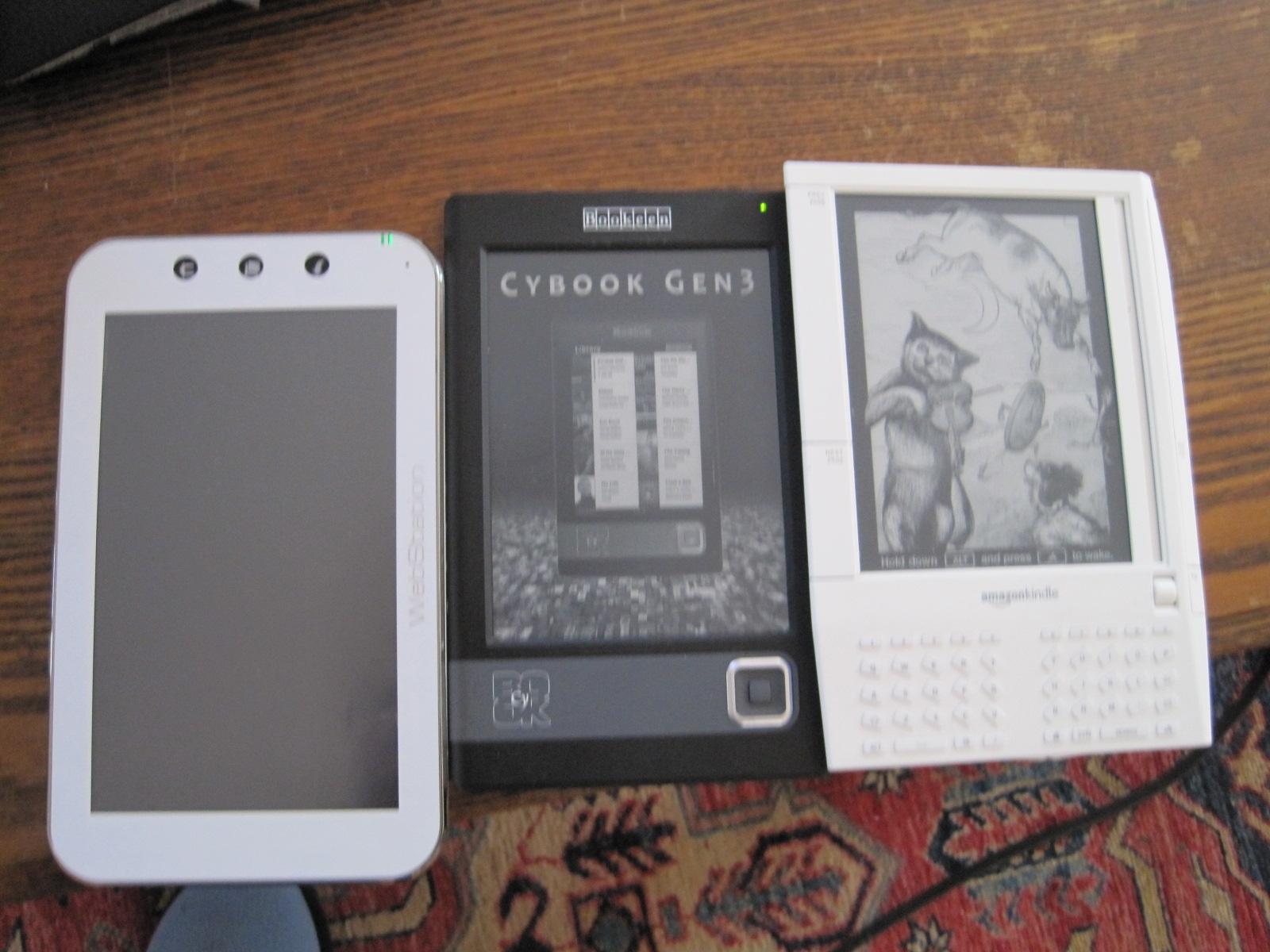 GearDiary Bookeen Cybook Gen 3 Review