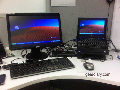 GearDiary Review:  HP USB 2.0 Docking Station