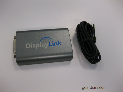 GearDiary Review: Display Link USB 2.0 Lets You Share Monitors and Support a Resolution Up To 2048x1152