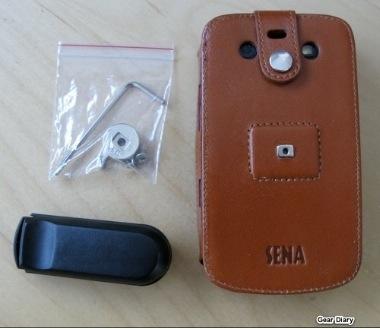 Sena Leatherskin for Blackberry Bold 9700 - Review