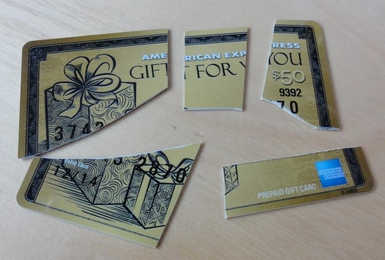 GearDiary AmexEx Gift Cards- The Gift With Strings Attached...