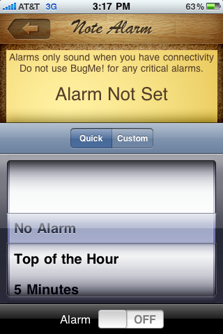 GearDiary Review: BugMe for iPhone? It Does (But in a Good Way)