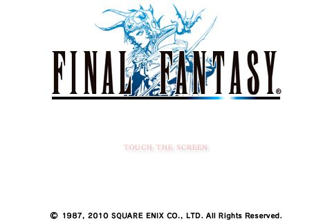 GearDiary Final Fantasy iPhone Game Review