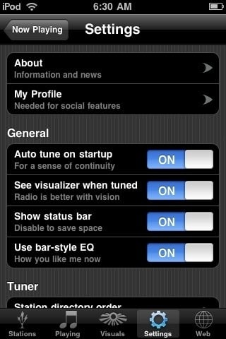 Spark Radio - iPhone Application Review