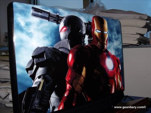 GearDiary Marvel Superheros Come to Gelaskins