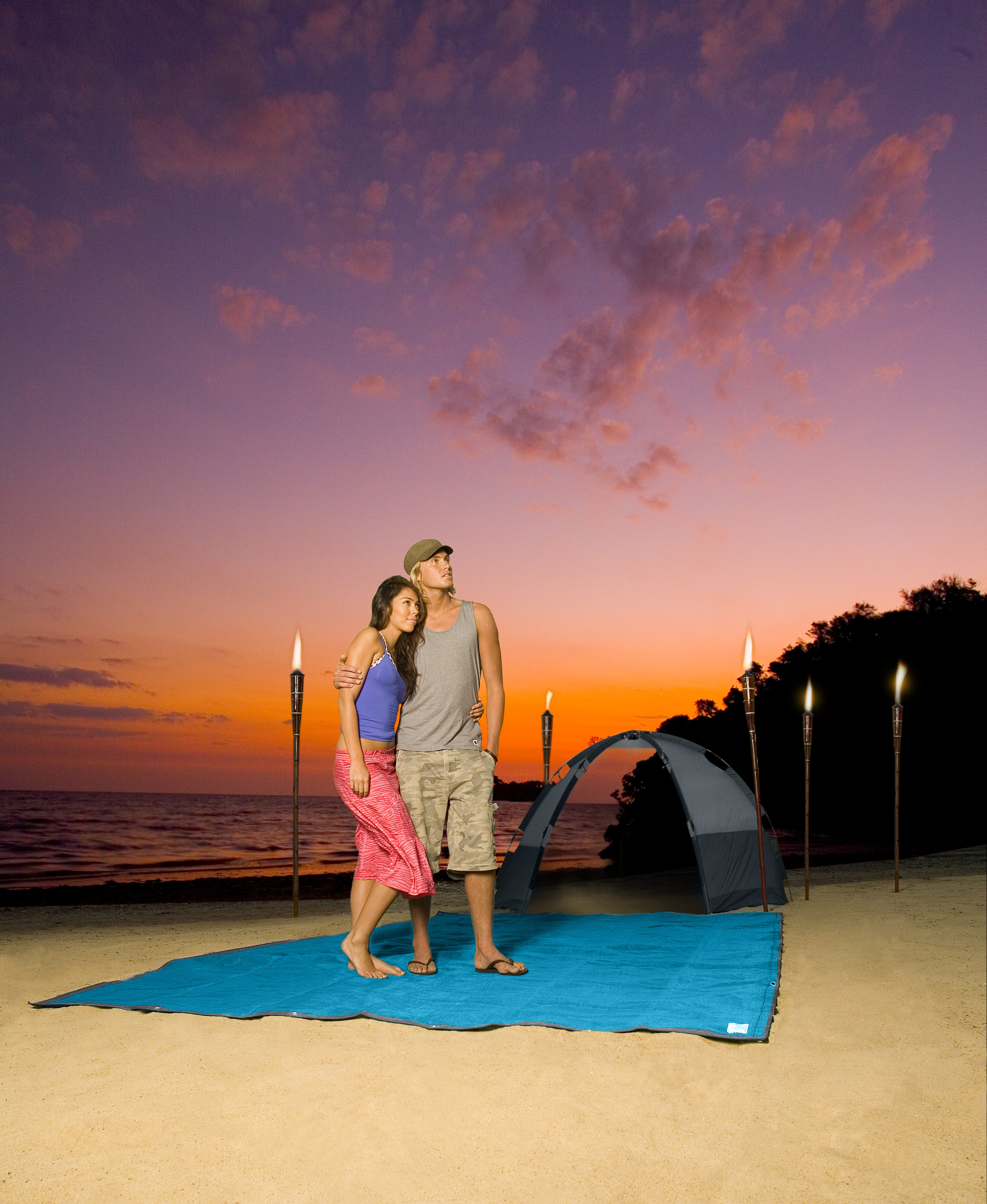 Enjoy a Sand-Free Campsite With the CGear Multimat