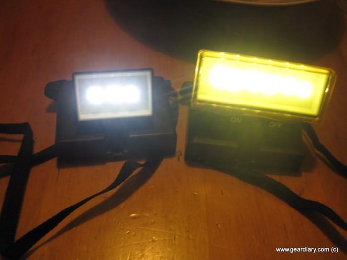 GearDiary Beam N Read Lights Review