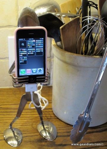 GearDiary Forked Up Art Serves Up the Coolest iPhone and iPod Touch Holder Ever!