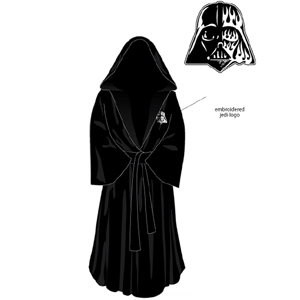 GearDiary Revel in Your Dark Side with the Darth Vader Bath Robe