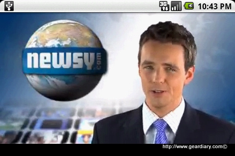 GearDiary Review: Newsy App for Android, all the latest news right to your mobile