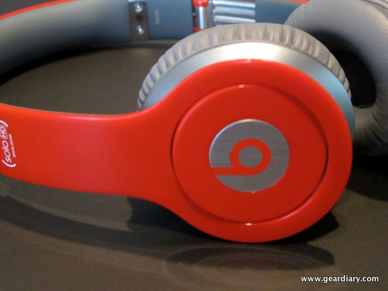 GearDiary Review:  Beats By Dr. Dre Solo HD Red