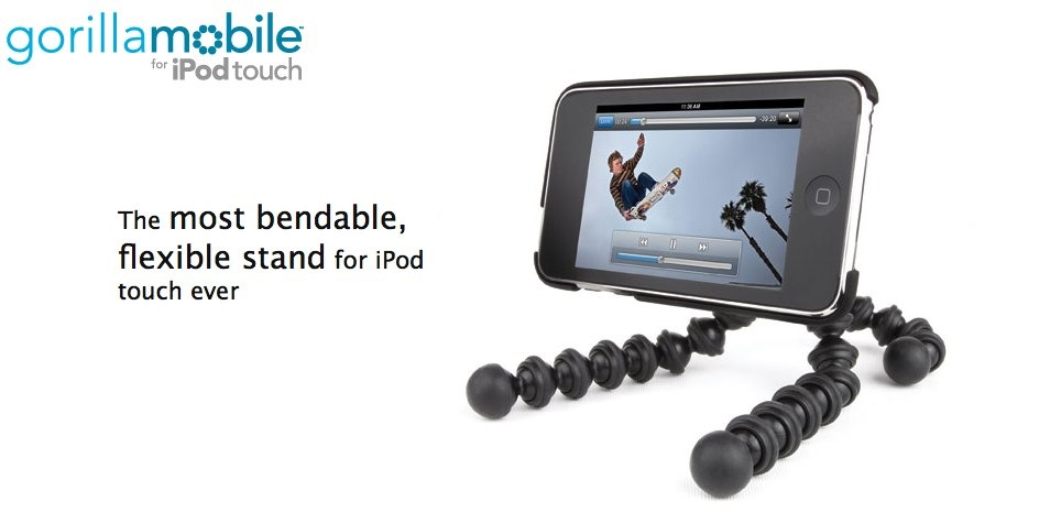 GearDiary Joby Gorillamobile for iPod touch Review