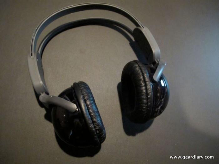 Review:  Kidz Gear Wireless Car Headphones