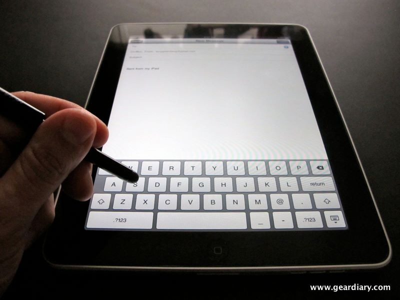 GearDiary Review:  WirelessGround Touch Screen Stylus, Reduces iPad Fingerprints
