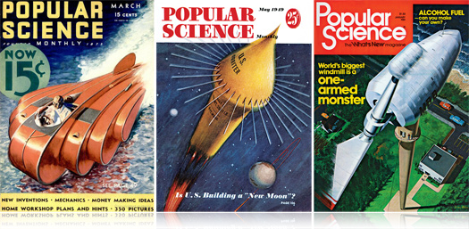 Popular Science Puts Entire Archive Online ... for Free!