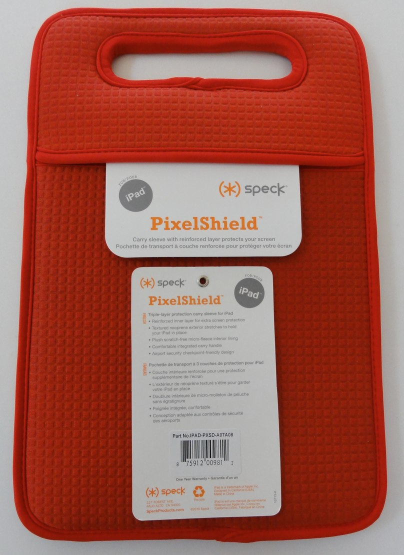 GearDiary And The First iPad Case To Arrive For Review... The Speck PixelShield