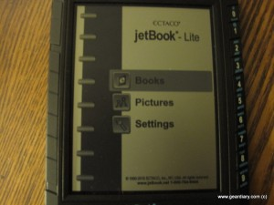 Jetbook Lite Ebook Reader Review
