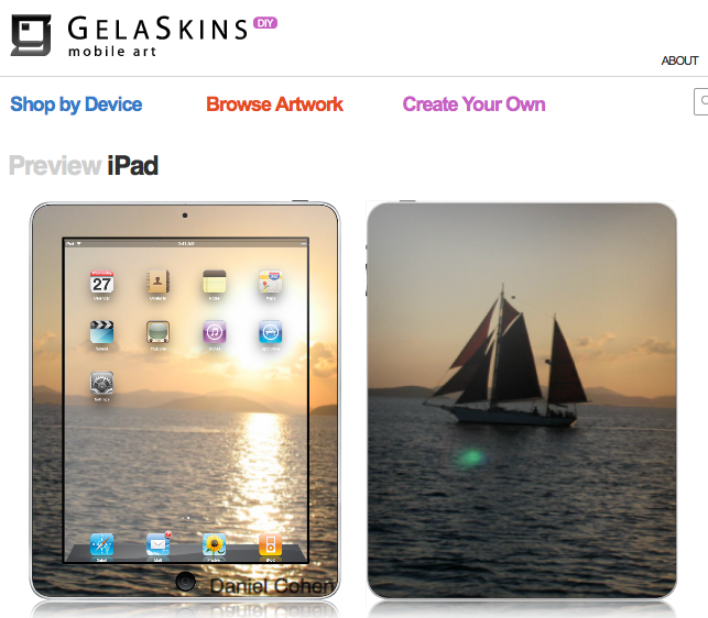 GearDiary GelaSkins for iPad - Review