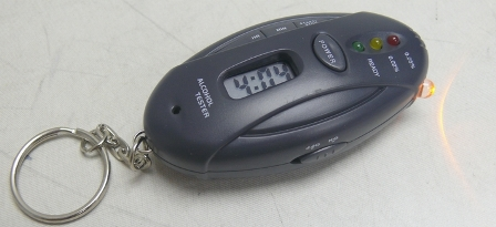 If You Need a Breathalyzer on Your Keyring, It Probably Means You Shouldn't Be Driving (DUH!)