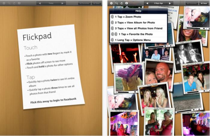 Social Networking iPad Apps iPad Facebook