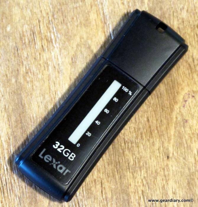 The Lexar USB JumpDrive Secure II Plus Review
