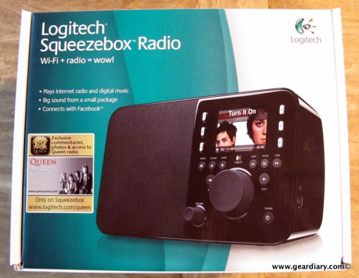 Wireless Gear Social Networking Radios (Including Internet Radio) Logitech Home Tech GearChat Facebook Audio Visual Gear