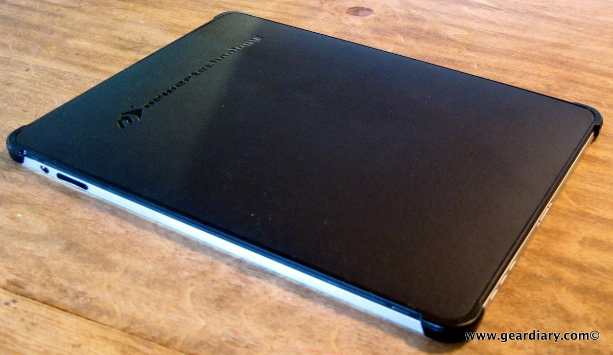 GearDiary The Newer Technology NuGuard Leather Hard Shell for iPad Review