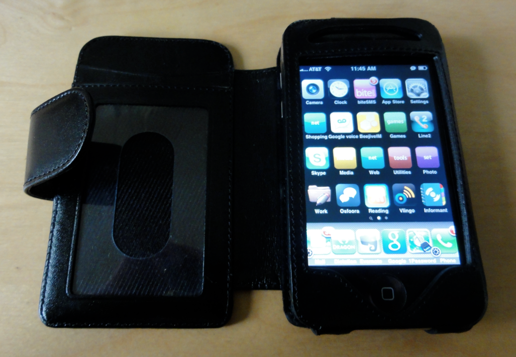 GearDiary Sena Walletbook for iPhone 3GS Review