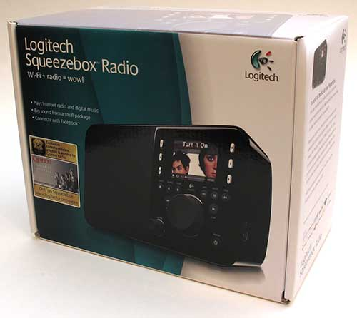GearDiary The Logitech Squeezebox Radio Review