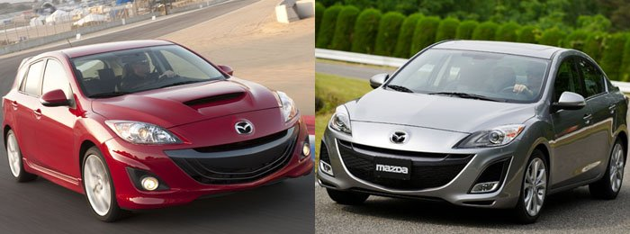 GearDiary 2010 MAZDA3 and MAZDASPEED3 leave you grinning