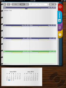 Pocket Informant HD for iPad- A Gear Diary Sneak Peak