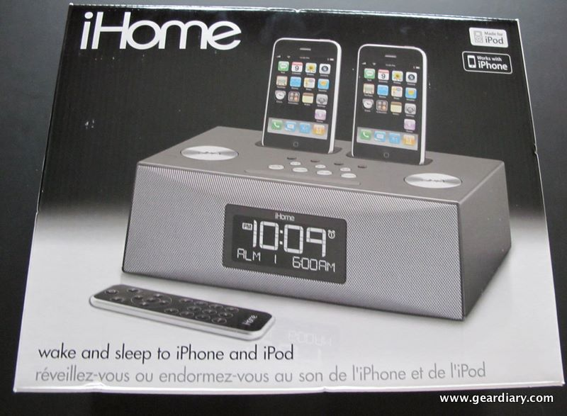 GearDiary Review:  iHome iP88