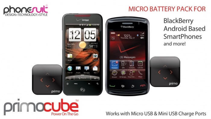 GearDiary Phonesuit Introduces Their New PrimoCube Micro Battery