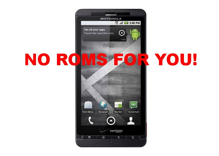 Droid X Gets the Lockdown: Does it Matter?