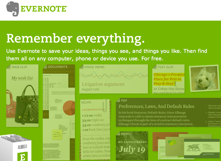 GearDiary So Here's What's New At Evernote...