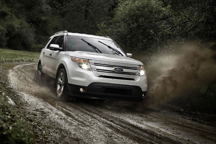 2011 Ford Explorer: Back from the drawing board