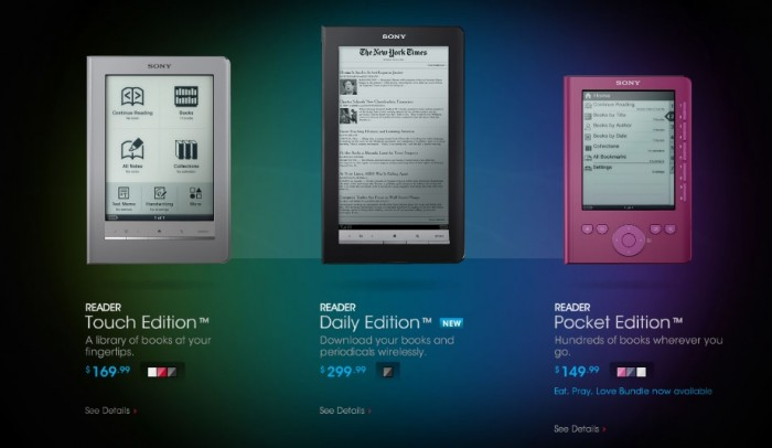 GearDiary Falling eBook Reader Prices!