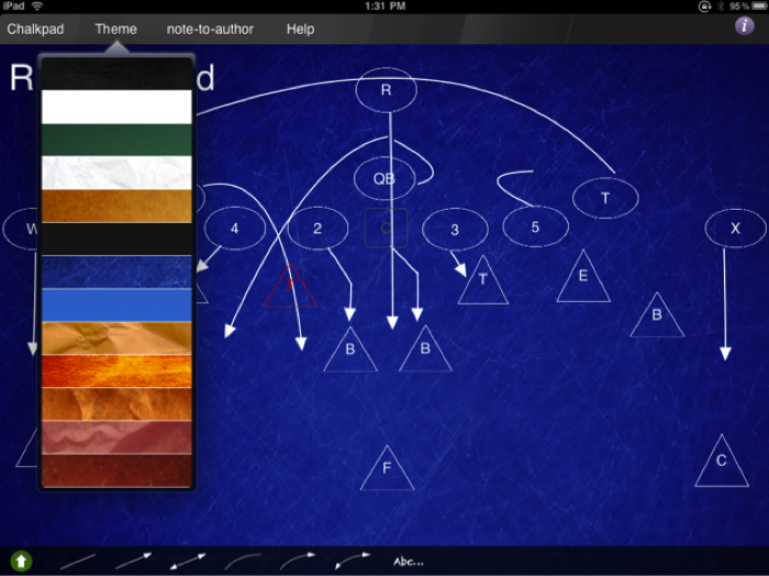 iPad App Review:  The Chalkpad