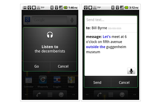 GearDiary Google Voice Actions Adds Yet Another Competitor to the Rapidly Emerging Field of Voice as Interface