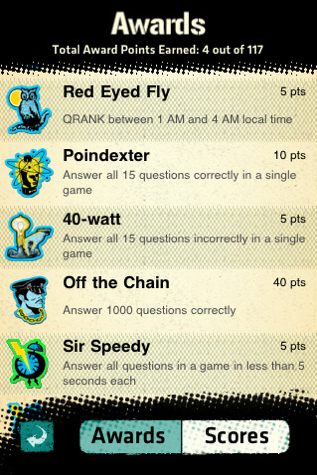 GearDiary QRANK for iPhone/Touch App Review
