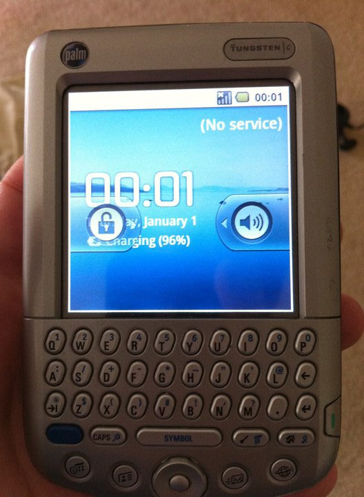 Android on a Palm Tungsten C!
