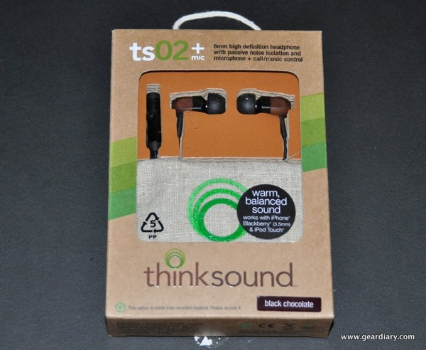 GearDiary Review:  Thinksound ts02+ mic:  Going Green Sounds Even Better Now