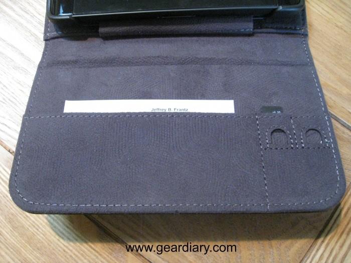 Dell Leather Streak Case card slot 3