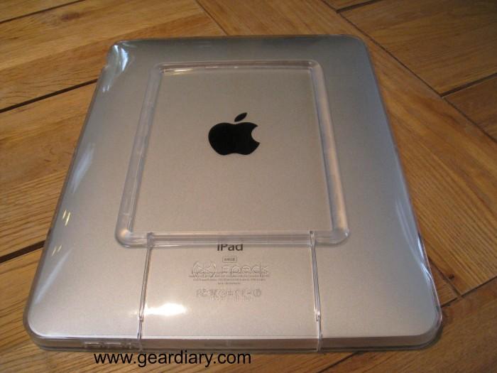Naked iPad?  No, Speck SeeThru!