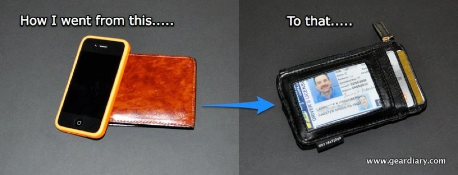 GearDiary iPhone 4 Case/Wallet Review:  eHolster Front Pocket Wallet