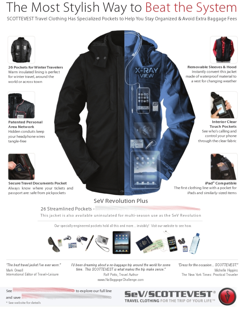 "GearDiary Delta to SCOTTEVEST- ""Sorry but Carry-On Revenue > Ad Revenue in Delta Sky Magazine"""